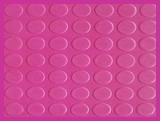 SG3001-ROUND BUTTON RUBBER MAT